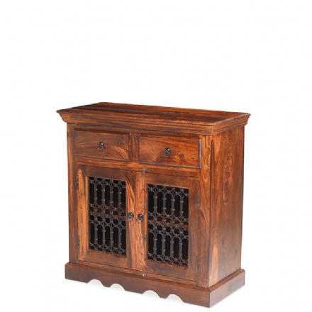 Jali Sheesham Wood Small Sideboard
